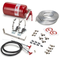 Fire Extinguish Systems Sparco Mechanical Fire Extinguishing System