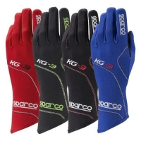 Karting Gloves Sparco Blizzard KG-3